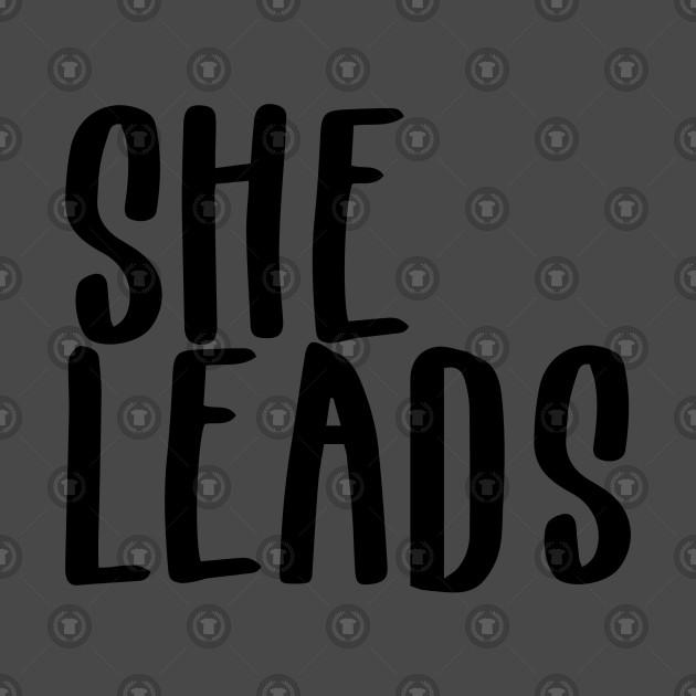 Woman Leadership T Shirt For Women Kids Men   She Leads