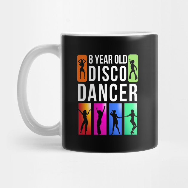 8 Year Old Disco Dancer Birthday Gift Idea For