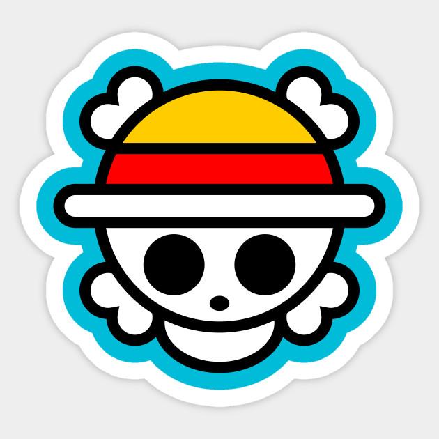 Cutest One Piece Logo - One Piece - Sticker | TeePublic UK