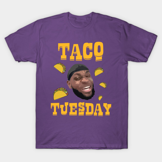 huge selection of 58f69 14356 Lebron James 'Taco Tuesday' NBA Los Angeles Lakers