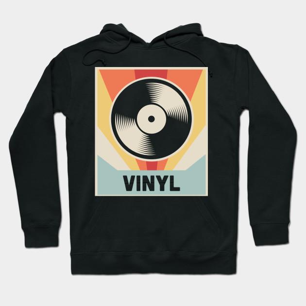 Vinyl Vintage Record Vinyl Hoodie Teepublic