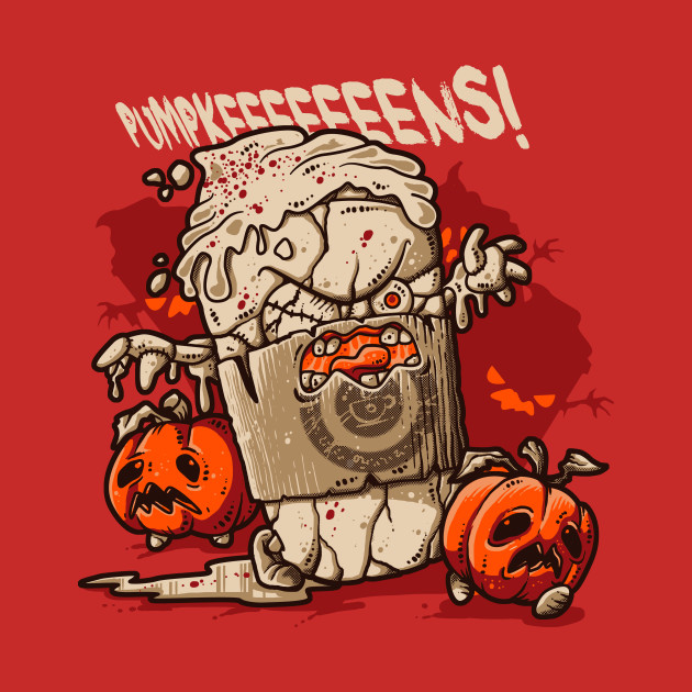 Pumpkin Spice Zombies T-Shirt