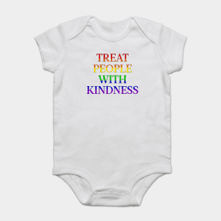Cute baby clothes Treat People with Kindness baby bodysuit Cute bodysuit Baby Bodysuit Bodysuit for baby Baby Clothes