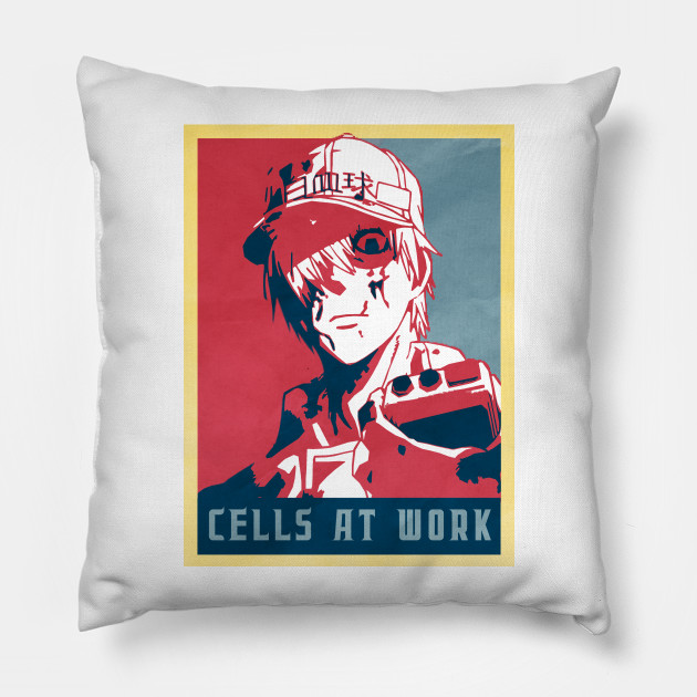 While Blood Cell - Cells At Work Political   Anime Shirt