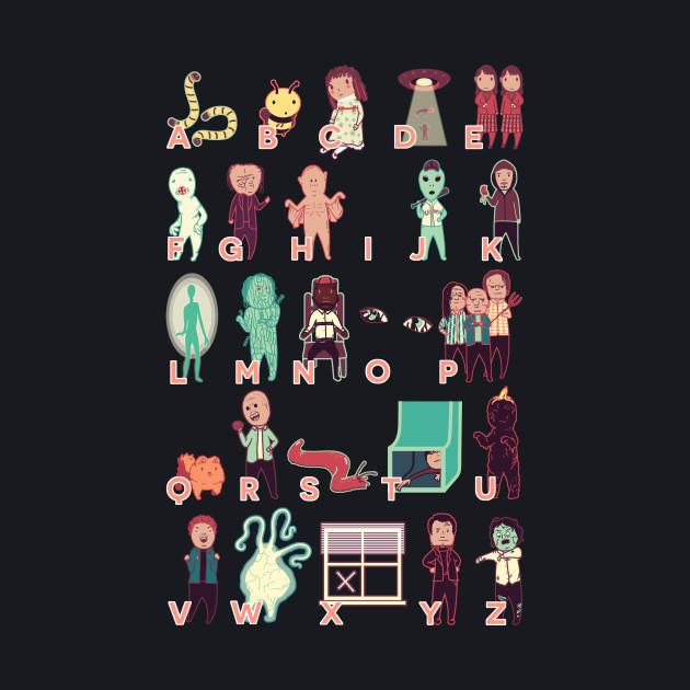 X-Files Monster Alphabet