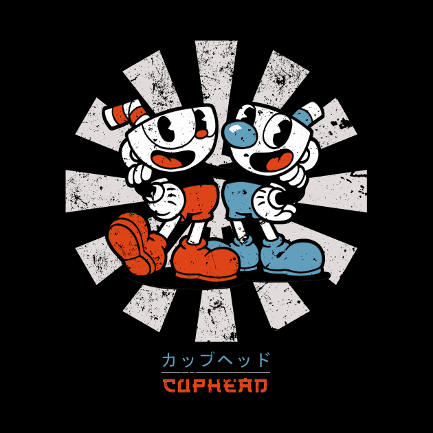 Cuphead Retro Japanese