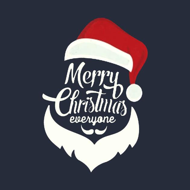 Merry Christmas Everyone T-Shirt - Merry Christmas Merrychristmas ...