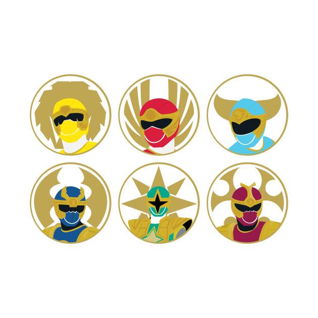 Power Rangers Ninja Storm Power Rangers T Shirt Teepublic