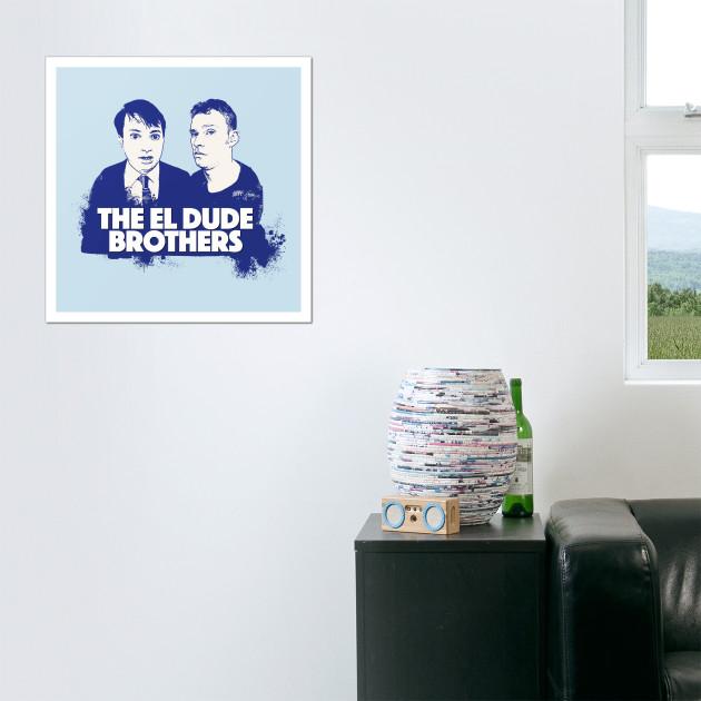 The El Dude Brothers - Peep Show - Wall Art   TeePublic