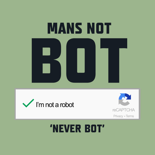 Mans not bot bosslogic tank top teepublic