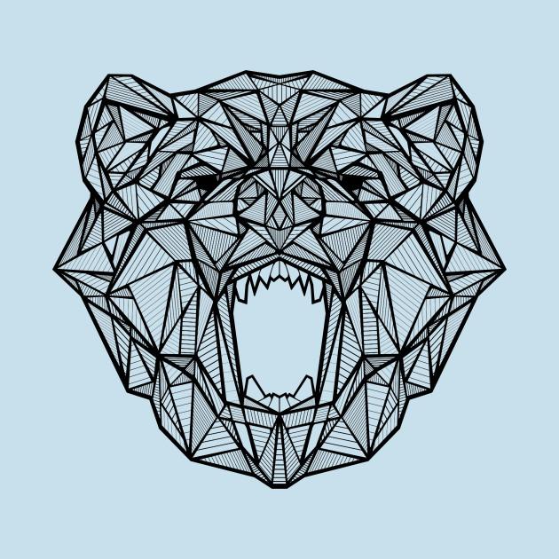 Geometric Bear Bear T Shirt Teepublic