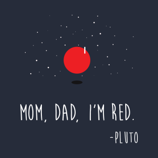 PLUTO IS RED! :O