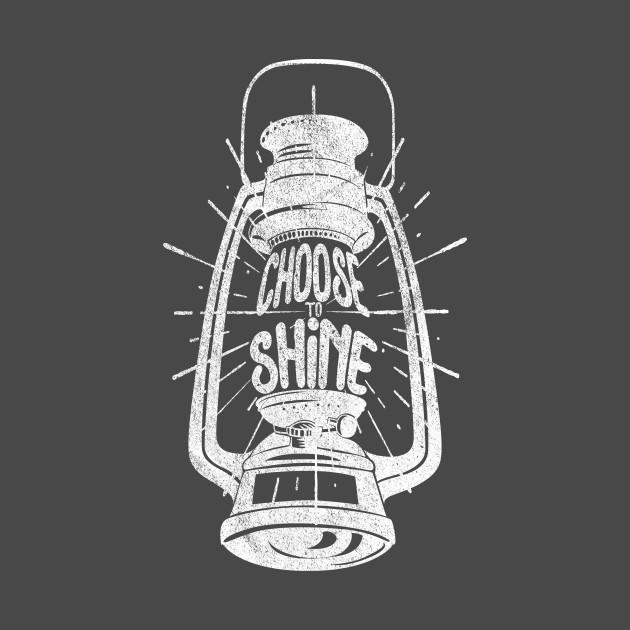 Vintage Oil Lamp - Choose To Shine