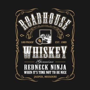Roadhouse Whiskey t-shirts