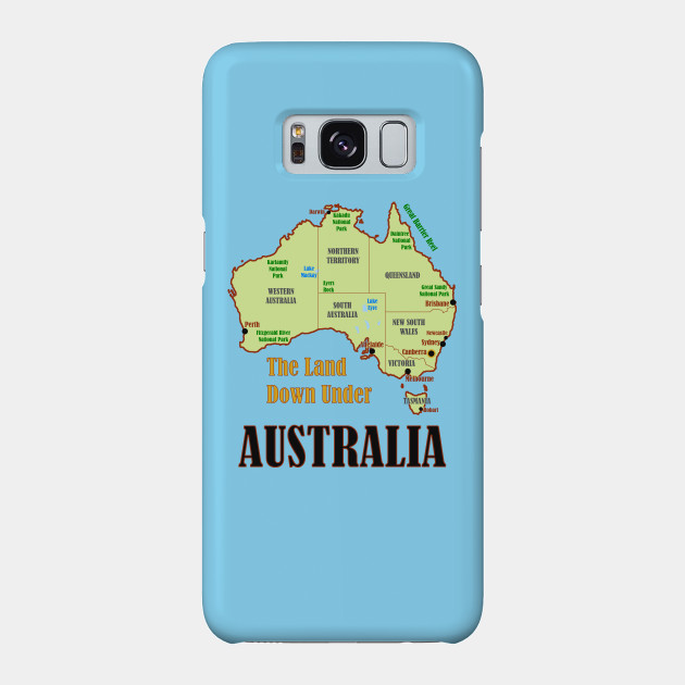Show A Map Of Australia.Australia Map