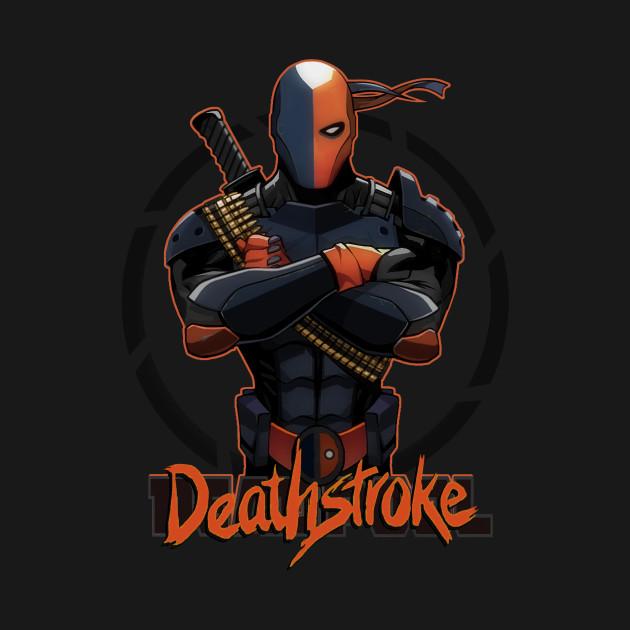 deadwho i m deathstroke deathstroke t shirt teepublic