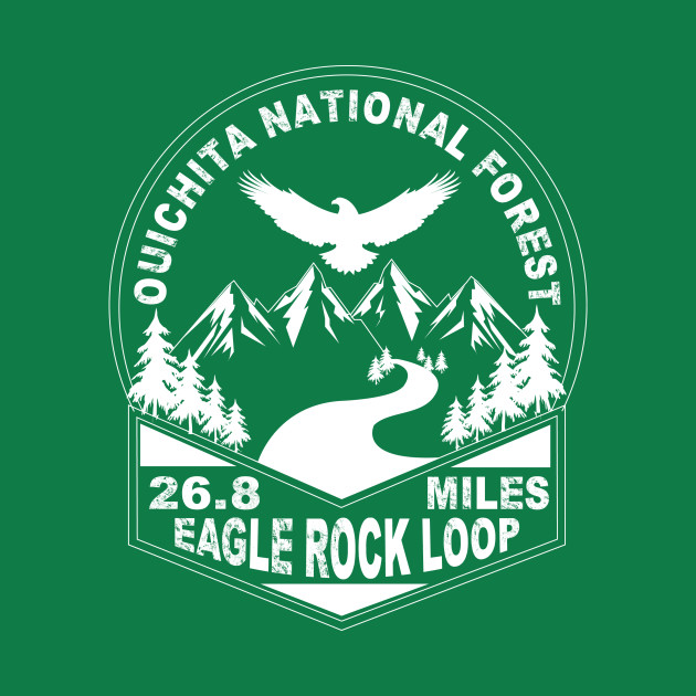 Hiking Trail Eagle Rock Loop Ouichita National Forest Arkansas