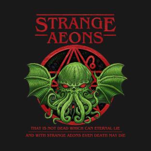 Strange Aeons - Azhmodai 2018 t-shirts
