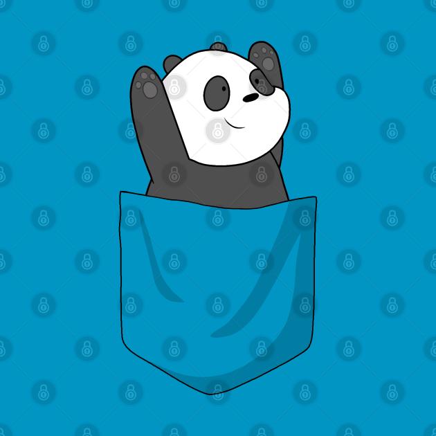 Panda Bear in Pocket