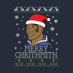 Mike Tyson Merry Chithmith Chritmas t-shirts