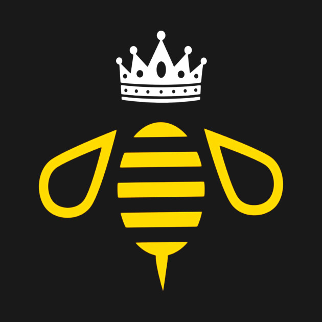 Queen B Queen Bee With A Crown T Shirt Christmas Kids T Shirt