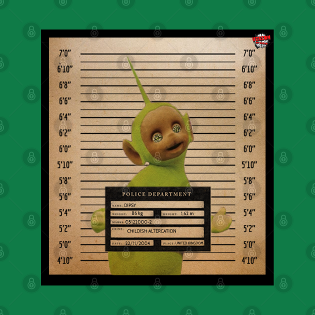 Teletubbies Wanted: Dipsy