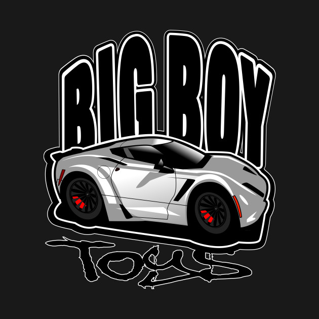 Big Boy Toys Vette Corvette T Shirt Teepublic