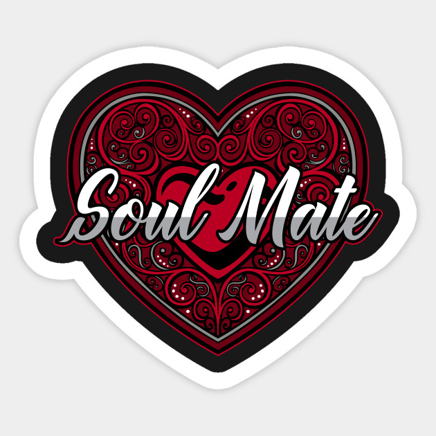 Soul Mate Red Heart Valentine