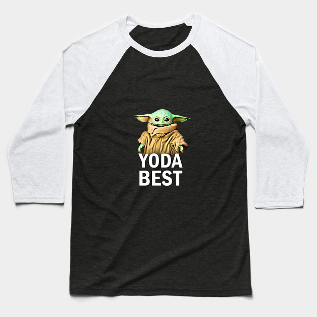 Baby Yoda Message Baseball T-Shirt