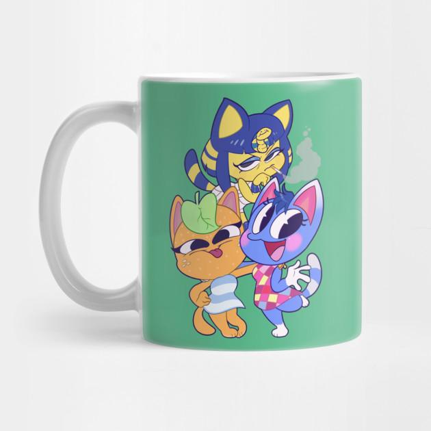 Animal Crossing Cats Animal Crossing Characters Mug Teepublic