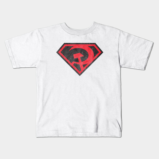 Red Son Superman - Distressed