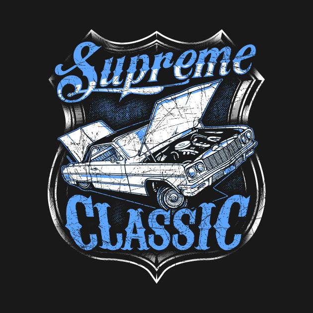 Supreme Classic Low Rider Car Design