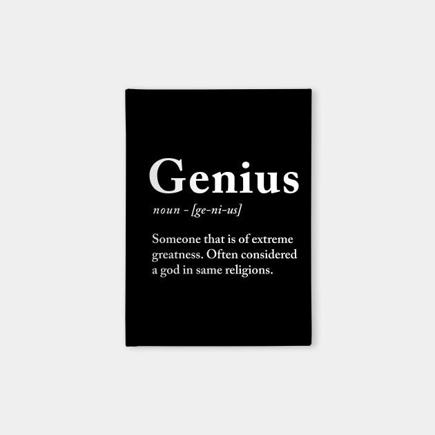 Genius definition