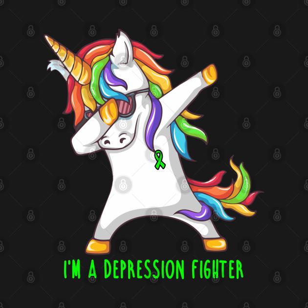 I'm A DEPRESSION Fighter Support DEPRESSION Gift