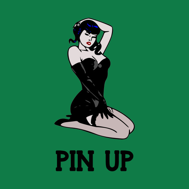 Pin up girl retro vintage