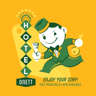 Hotel Onett t-shirts