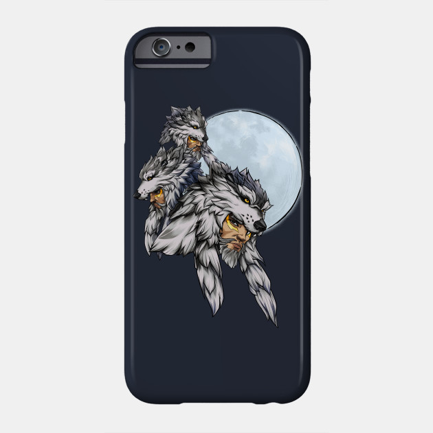 8ef3575b Three Wolf Moon - Hanzo - Overwatch - Phone Case   TeePublic