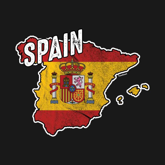 Kids Map Of Spain.Spain Map