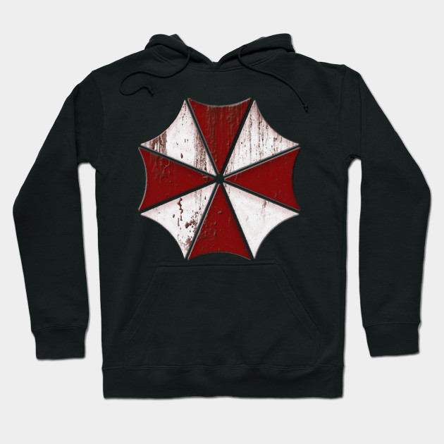 Resident Evil Umbrella Corp Blood Splatter Mens Vest
