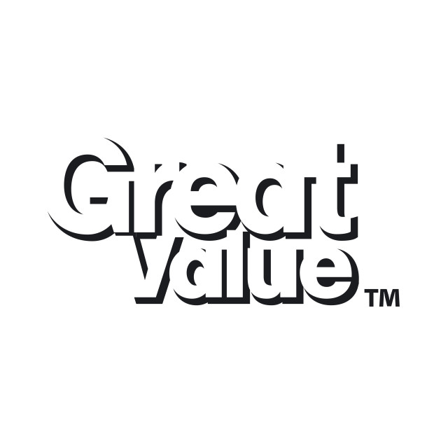 great value logo - walmart - mug | teepublic