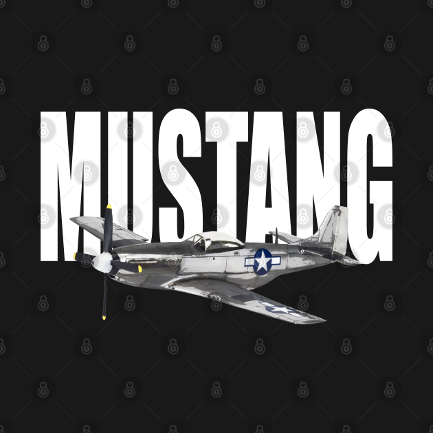 North American P-51 Mustang  WW2 WWII Plane