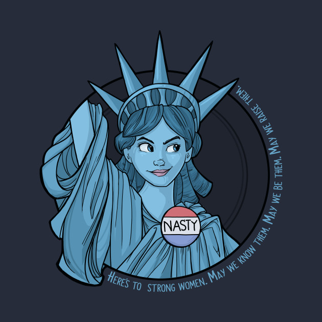 Nasty Lady Liberty