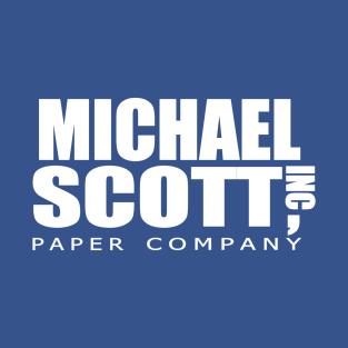 Michael Scott Paper Company t-shirts