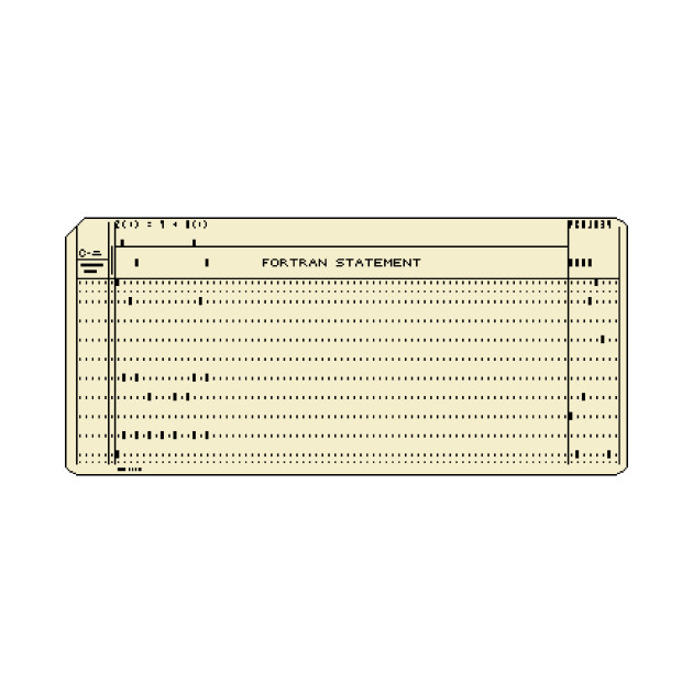 Pixel Punch Card