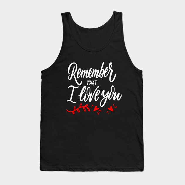VALENTINE'S DAY T SHIRT Tank Top