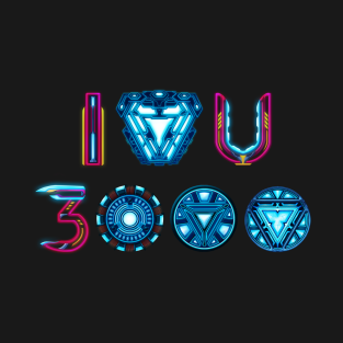a0ebaa3cfe9ba I Love You 3000 T-Shirts | TeePublic