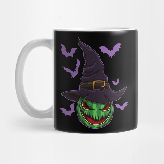 Halloween Watermelon Witch - Halloween Party Mug