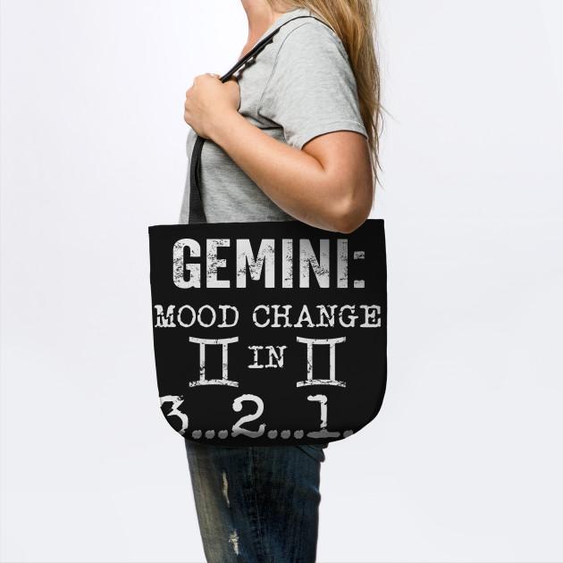 Gemini Mood Change In 3 2 1 T Shirt