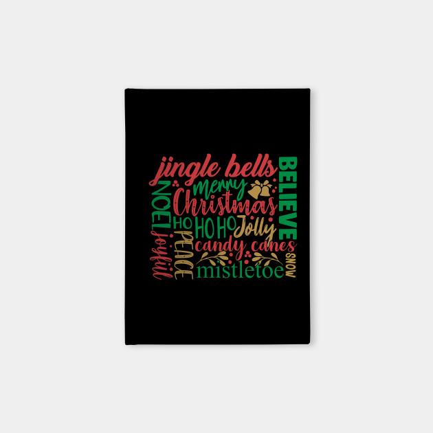 Merry Christmas Word Art