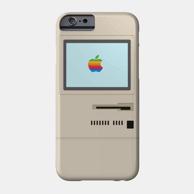 low priced 1944f 35a2f Macintosh Plus - Apple Retro Case - Apple - Phone Case | TeePublic